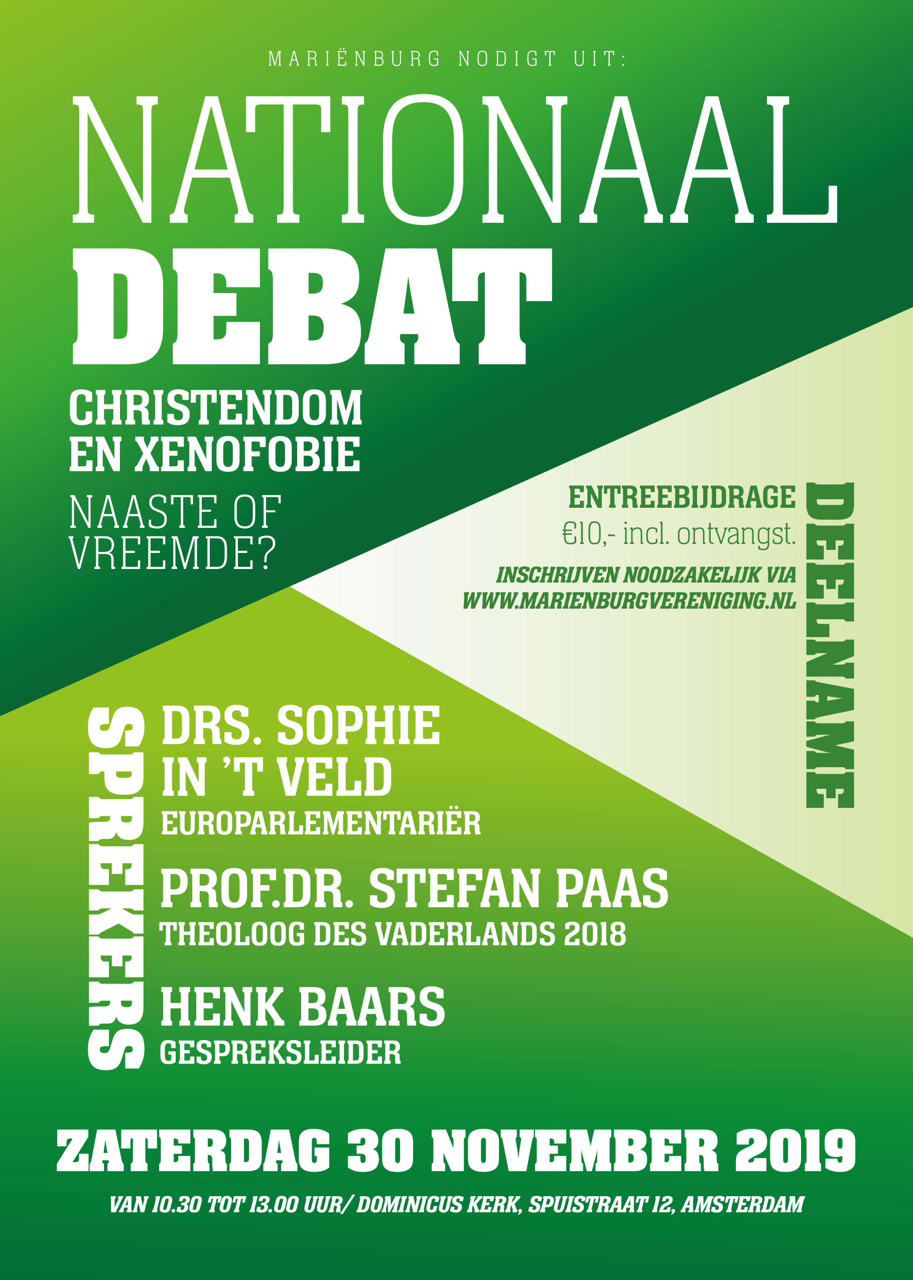 A5 Flyer Nationaal Debat 1